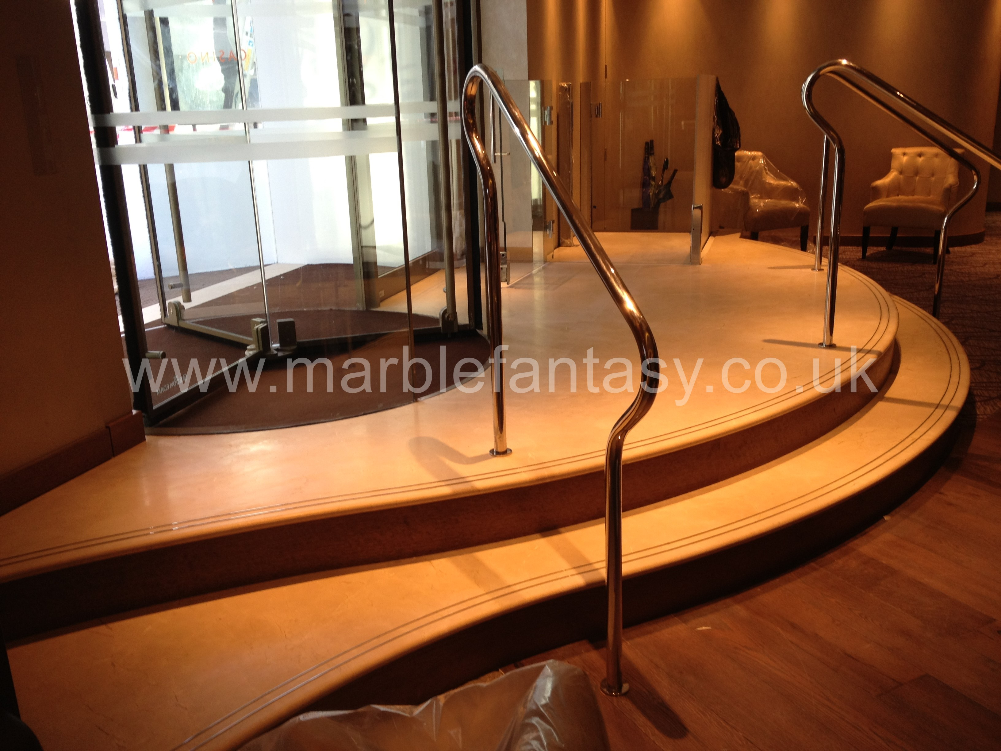 Marble Fantasy Stairs
